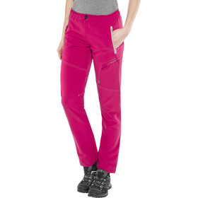 Meru Hawea Pantalones Mujer, cerise/grey